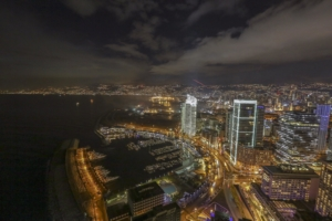 New Year's Eve celebration in Beirut