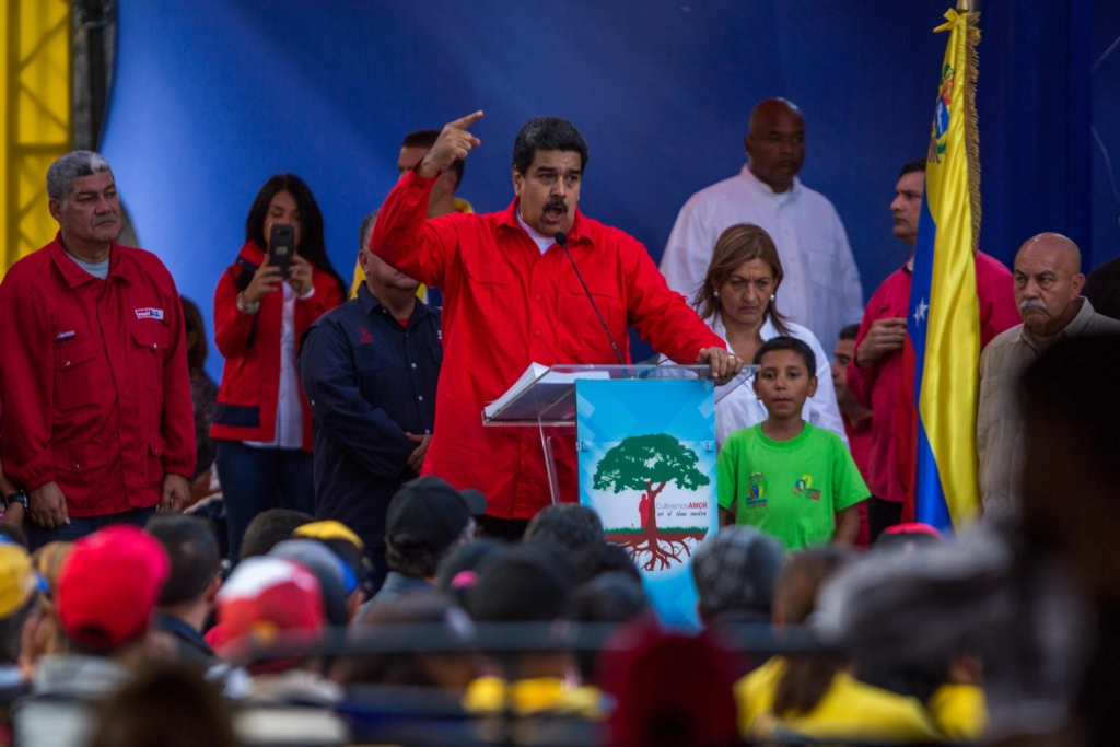 Event of the United Socialist Party of Venezuela