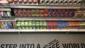 Supermercato senza plastica