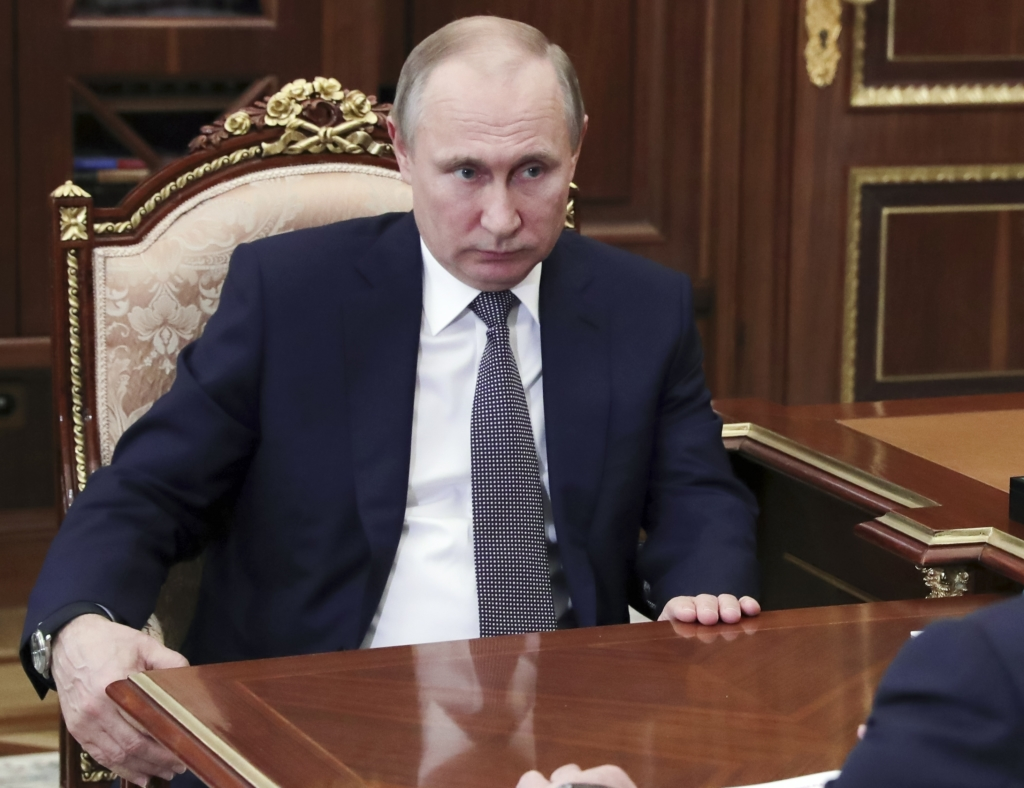 Russia Putin Syria
