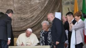 Loppiano: le sfide del papa