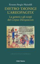 """Copertina Dietro """"Dionigi l'Areopagita"""""""