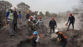 Guatemala, si contano i danni del Volcán de Fuego