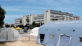 Giustizia in tenda a Bari