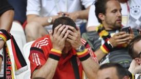 La Germania fuori, il Brasile avanza