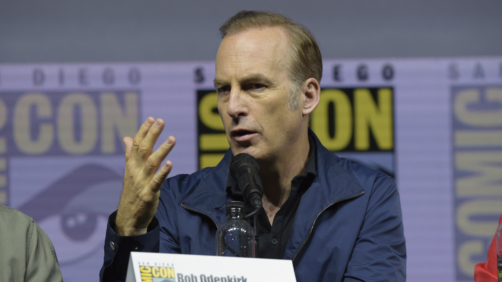 Bob Odenkirk speaks at the