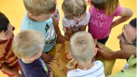 I bambini alla scoperta del dono