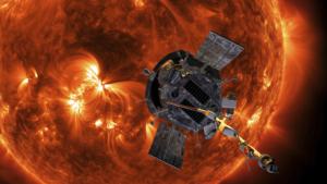 La sonda Parker Solar Probe si avvicina al Sole (contributo artistico)