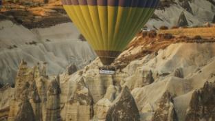 Mongolfiere sulla Cappadocia