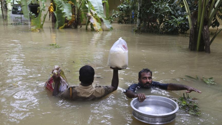Kerala, i monsoni provocano centinaia di morti
