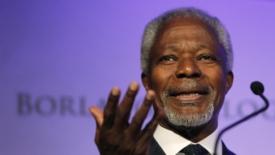 Kofi Annan torna a casa