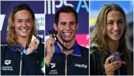 Nuoto e atletica: gioie e dolori per lo sport azzurro