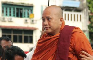 Wirathu, leader dei monaci buddhisti nazionalisti.