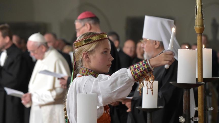 Il papa: crediamo ancora nella fraternità universale