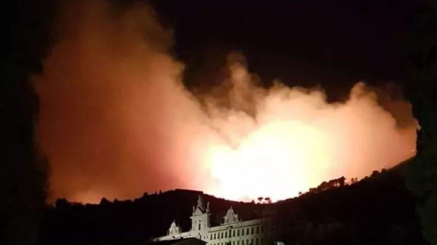 Incendi nel pisano tra emergenza e solidarietà