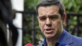 Tsipras agli Esteri