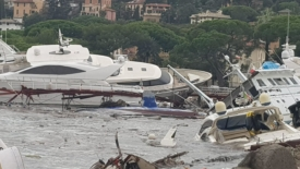 Liguria in ginocchio, tra burrasche e inondazioni