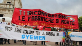 Armi e guerra in Yemen, ripartire da Assisi