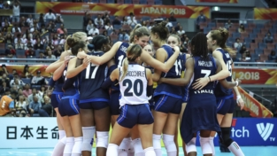 Mondiali di pallavolo, l'Italia spera nella medaglia