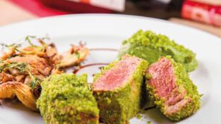 Filetto di maiale con lardo di Colonnata