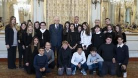 A scuola di cittadinanza con Mattarella