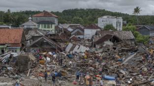 Tsunami. Devastante Krakatau