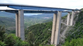 Cinque viadotti a rischio