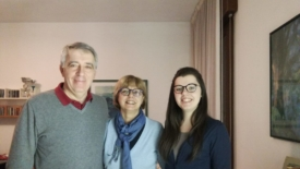 Chiara e la sua famiglia accogliente