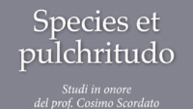 Species et pulchritudo