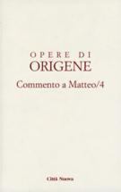 Copertina Commento a Matteo/4