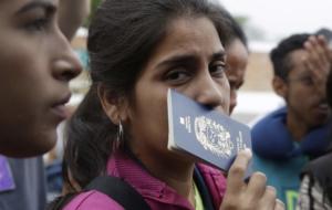 APTOPIX Peru Venezuela Migration Crisis