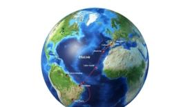 Una nuova via per unire Europa e America del Sud