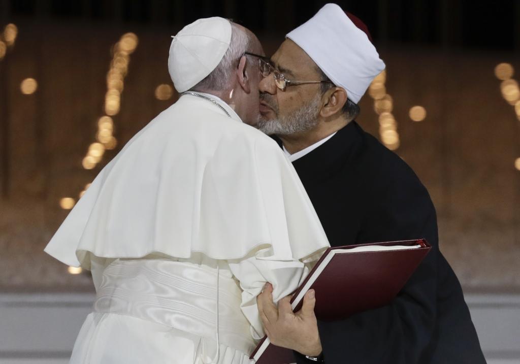 APTOPIX Emirates Pope
