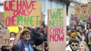 Lo sciopero per il clima