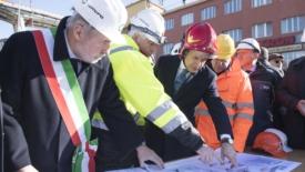 Genova, demolizione del Morandi al via
