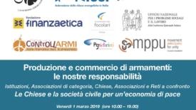 Roma. Chiese e società civile per un'economia di pace