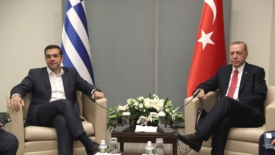 Storica visita di Tsipras in Turchia
