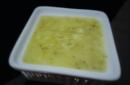 Zuppa vellutata di mele, sedano e zenzero