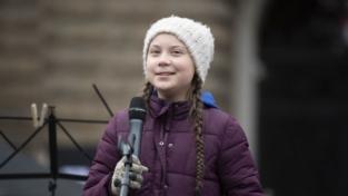 Greta Thunberg a Roma il 19 aprile