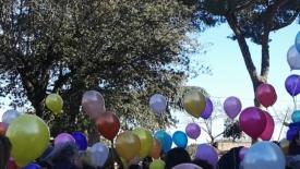San Giuseppe e i palloncini biodegradabili