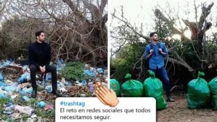 #TrashtagChallenge, cioè puliamo il pianeta