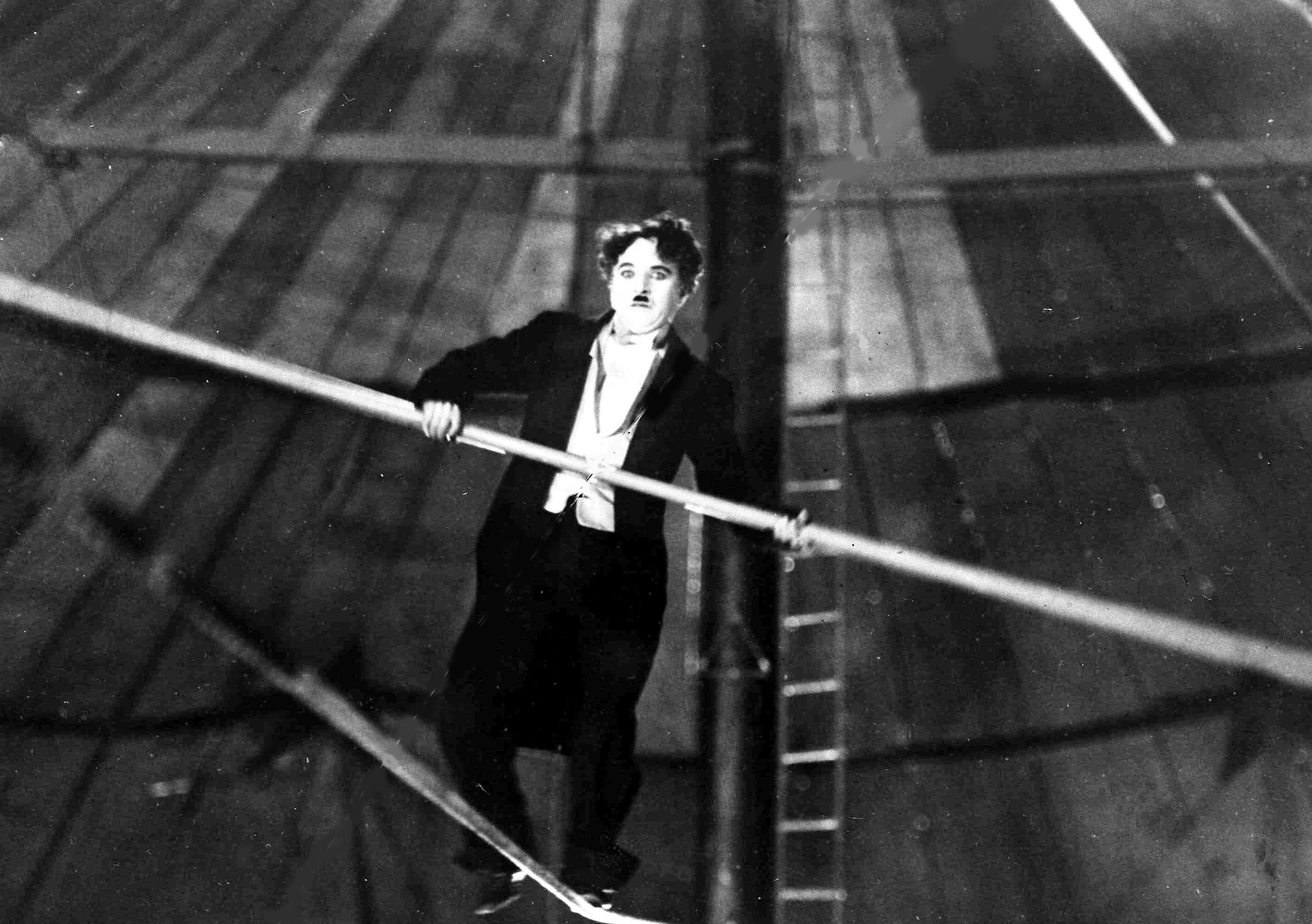 CHAPLIN ON HIGHWIRE