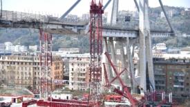 Ponte Morandi, inizia la ricostruzione