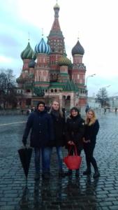 Gita a Mosca