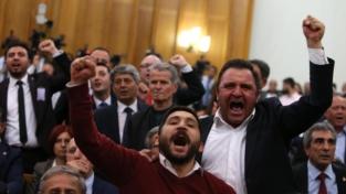 Turchia in panne