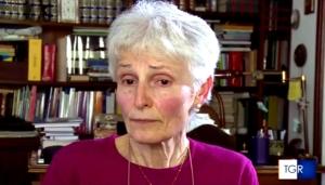 La professoressa Rosa Maria Dell'Aria