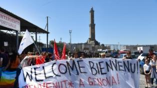 Genova accoglie i migranti