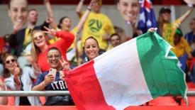Italia, esordio da sogno