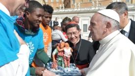 I quattro verbi di papa Francesco
