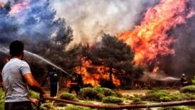 I danni dei super incendi